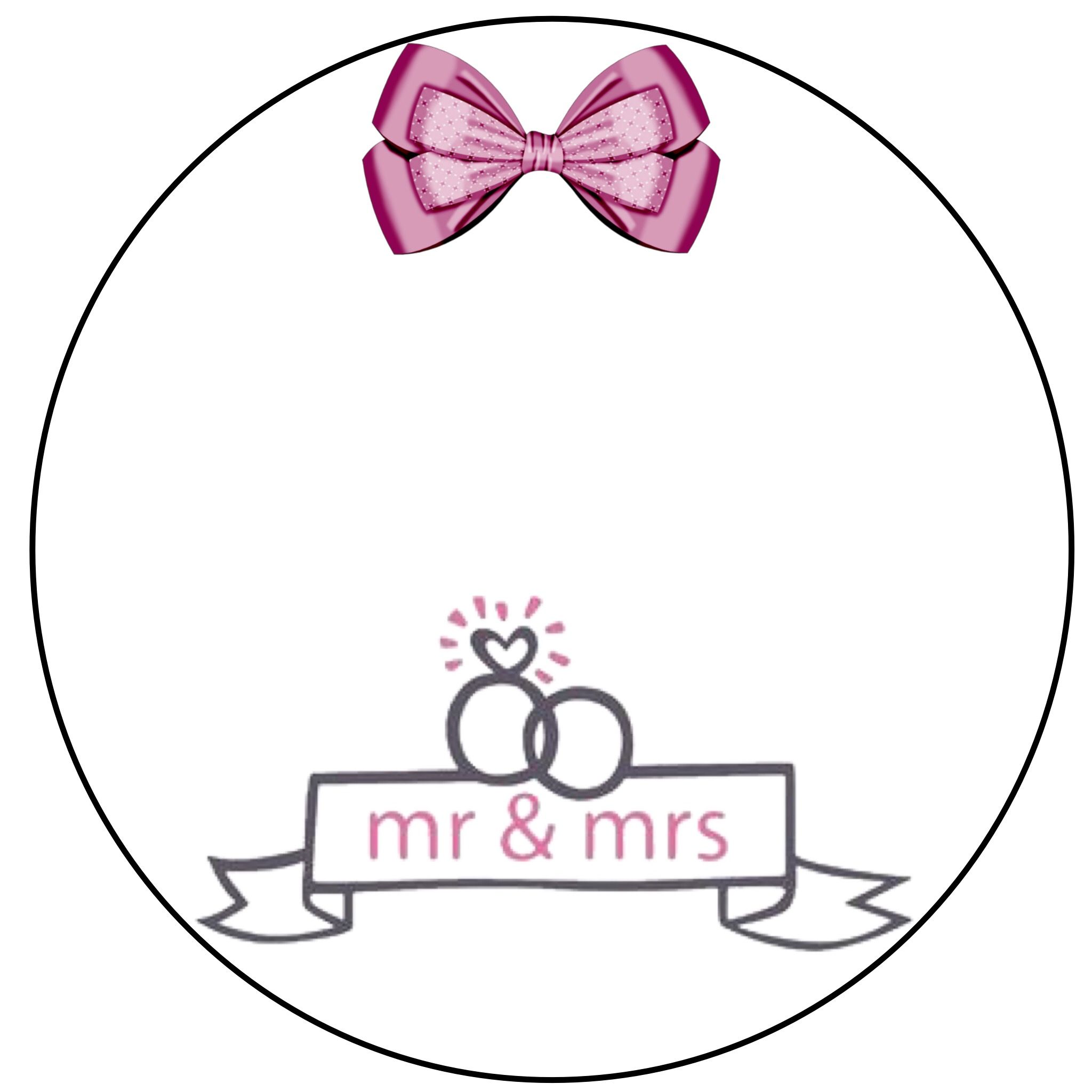 ثيمات حفلات زفاف بدون أسماء