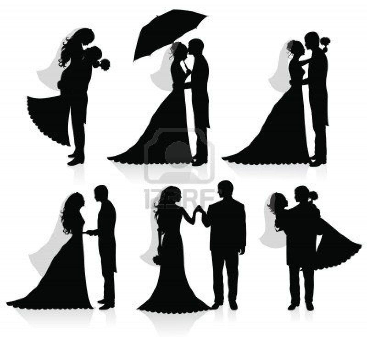 صور أشكال ثيمات زواج فارغة على شكل عريس وعروسة