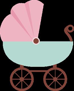 ثيمات مواليد تناسب الفتيات على شكل عربة طفل