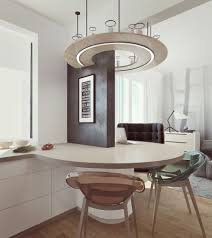أشكال طاولات طعام صغيرة بتصميمات عصرية للمطابخ