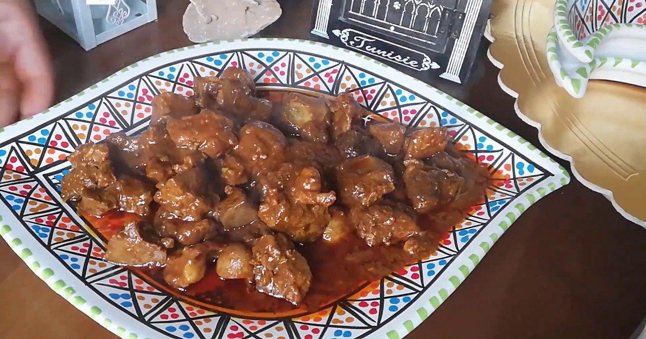 الكمونية بالكبدة من المطبخ التونسي