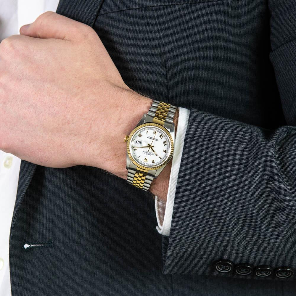 rolex_datejust_16233_wrist_watch_white_roman_face_jubilee_bracelet-1
