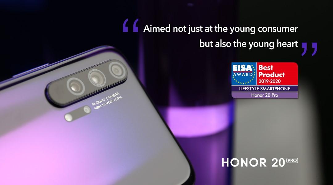 HONOR تفوز بجائزة جمعية التصوير والصوت الأوروبية