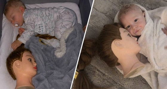 بالصور .. أم استخدمت حيلة لتنويم طفلها فحولت حياتها لجحيم