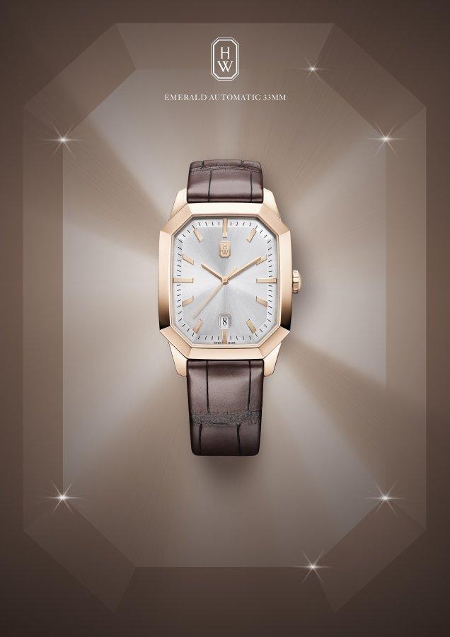 ساعات جديدة من Harry Winston