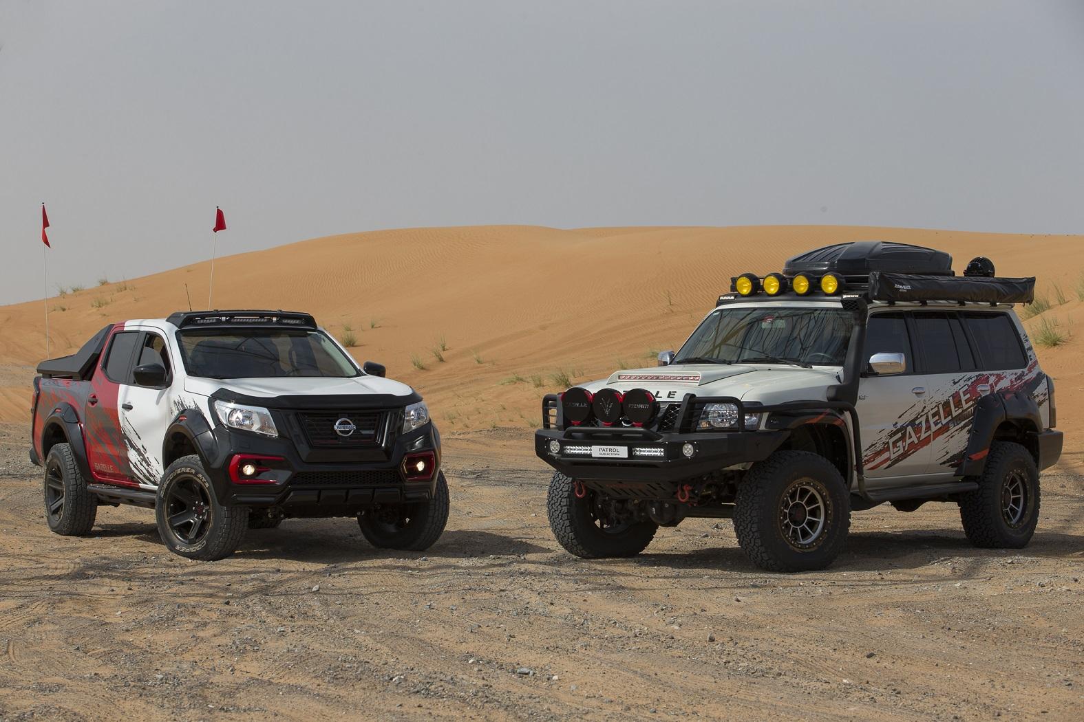 نيسان تكشف عن سيارتي غزال تمّ صنعهما خصيصاً لمنطقة الشرق الأوسط