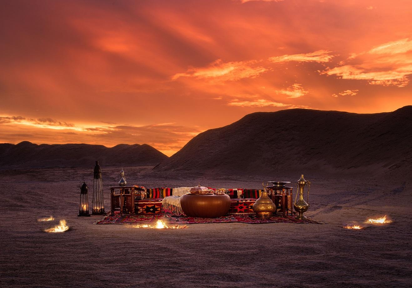 اكتشف منتجعاً مفعماً بالفخامة في صحراء تونس