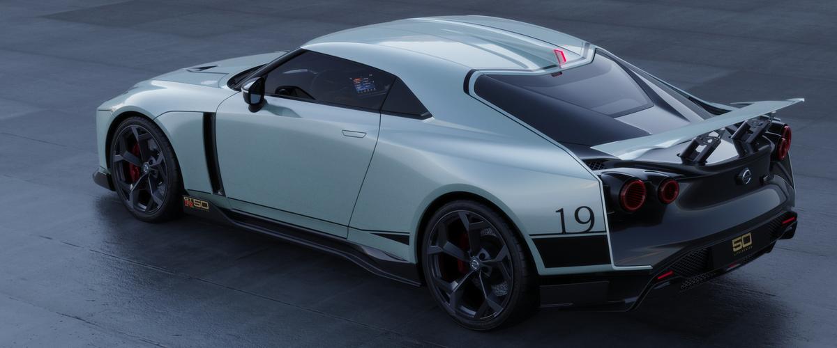 معرض جنيف للسيارات يستضيف الطراز الأول من نيسان GT-R50 من تصميم Italdesign