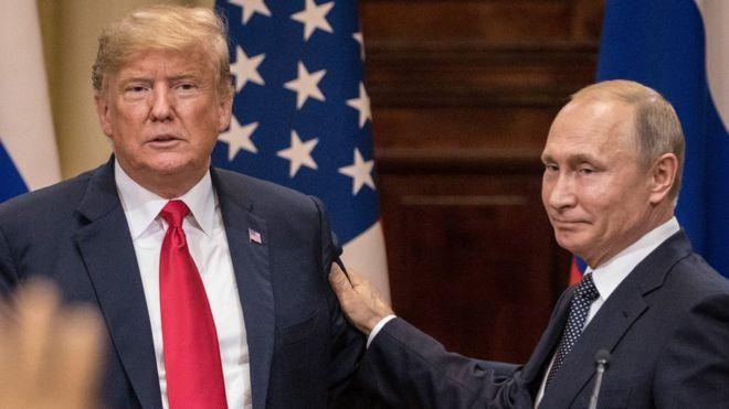 نجمة عالمية توضح الفرق بين بوتين وترامب !