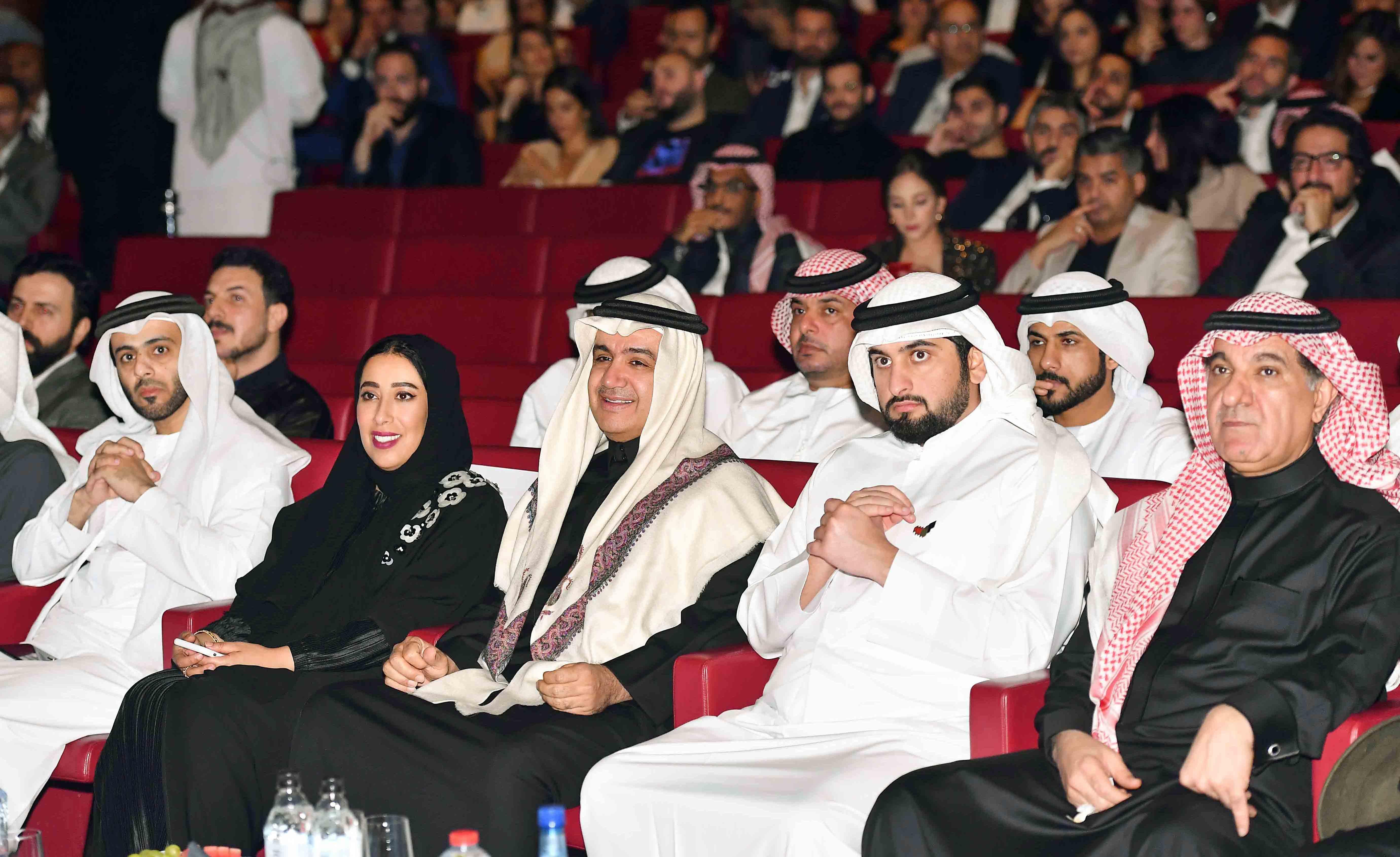 Shahid re-launch event - HH Sheikh Ahmad Bin Mohammed Bin Rashid Al Maktoum & Sheikh Walid Al Ibrahim, Turki Shabana & Mona Al Marri