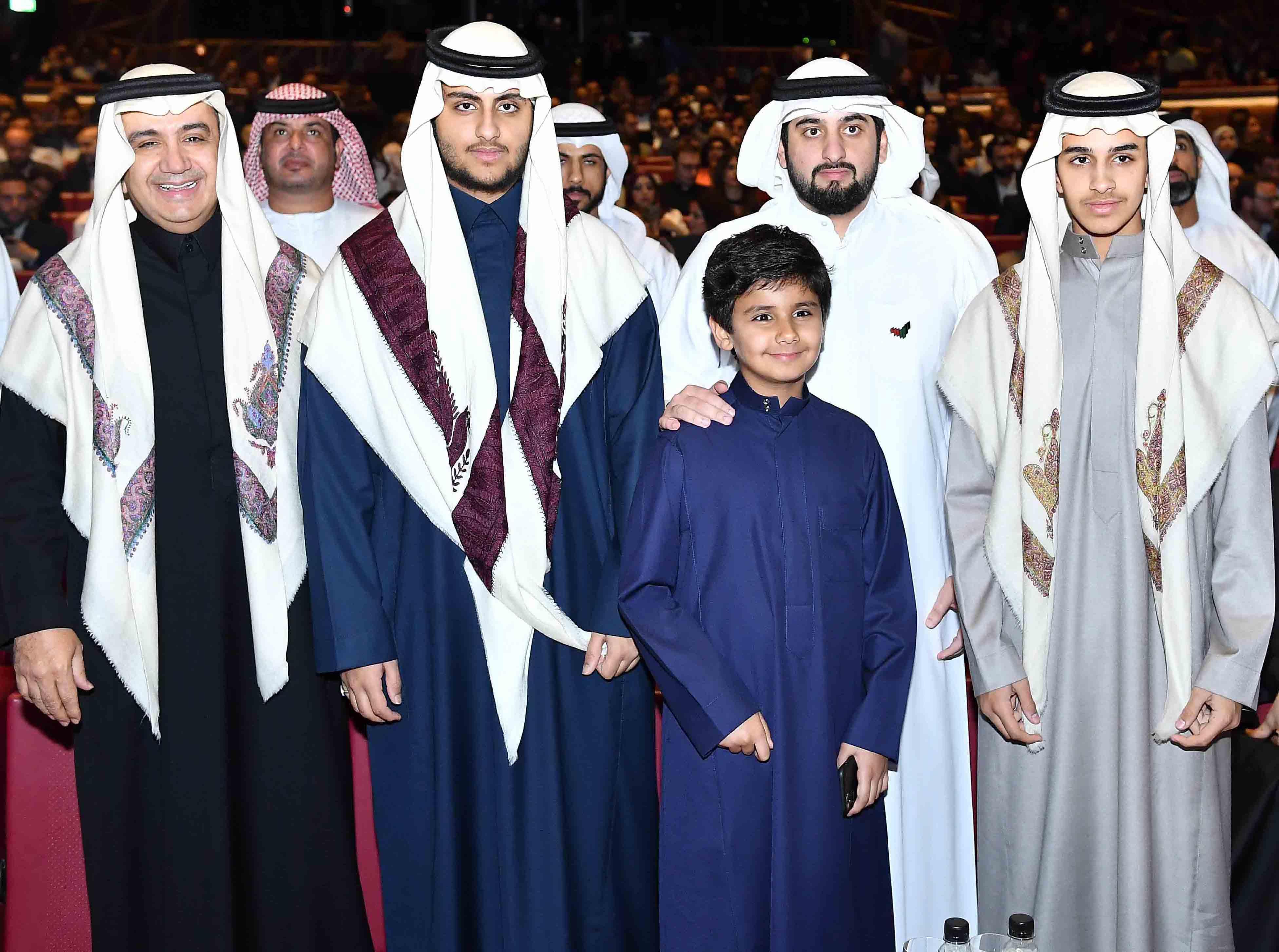 Shahid re-launch event - HH Sheikh Ahmad Bin Mohammed Bin Rashid Al Maktoum & Sheikh Walid Al Ibrahim