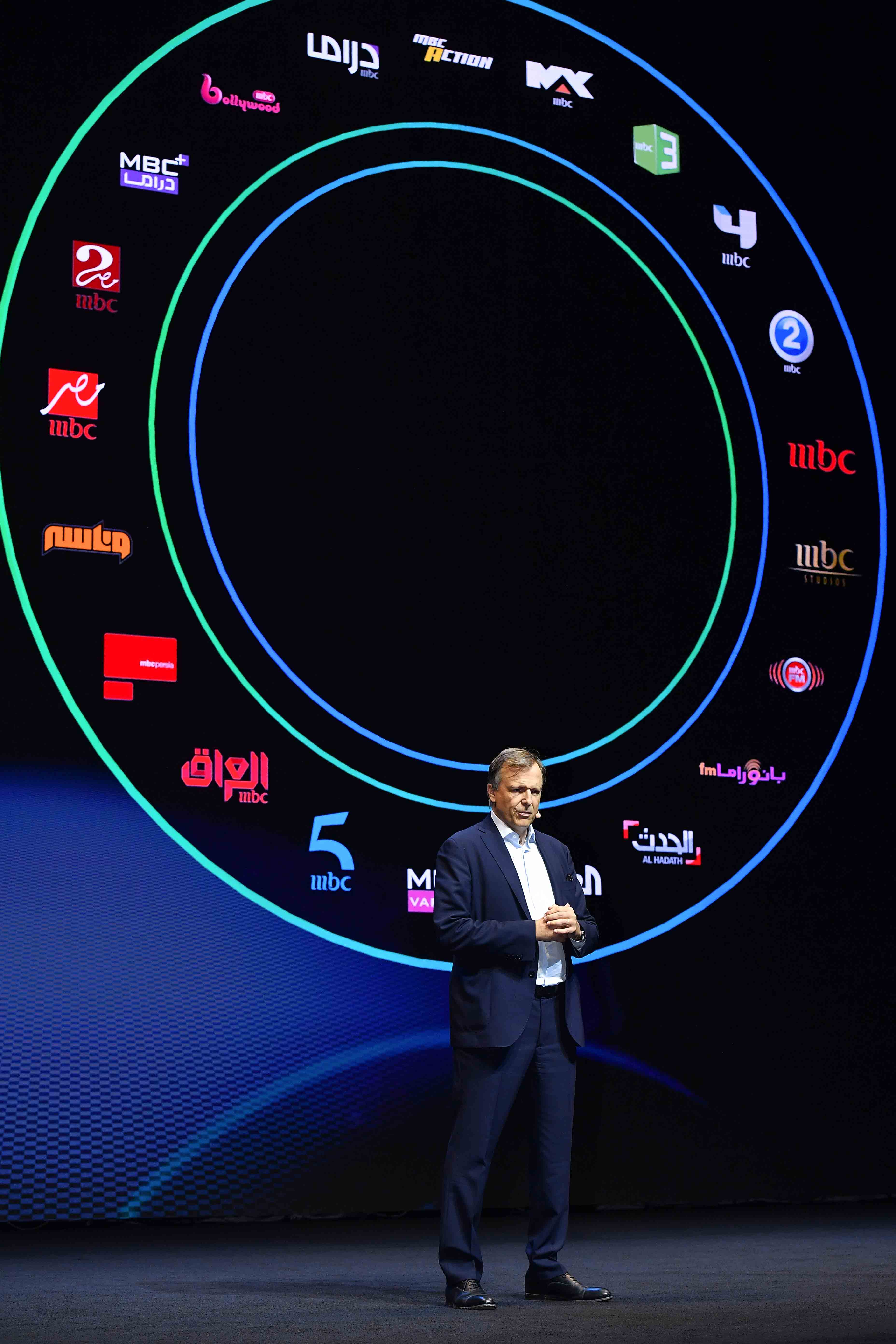 Shahid re-launch event - MBC Group CEO, Marc Antoine d'Halluin