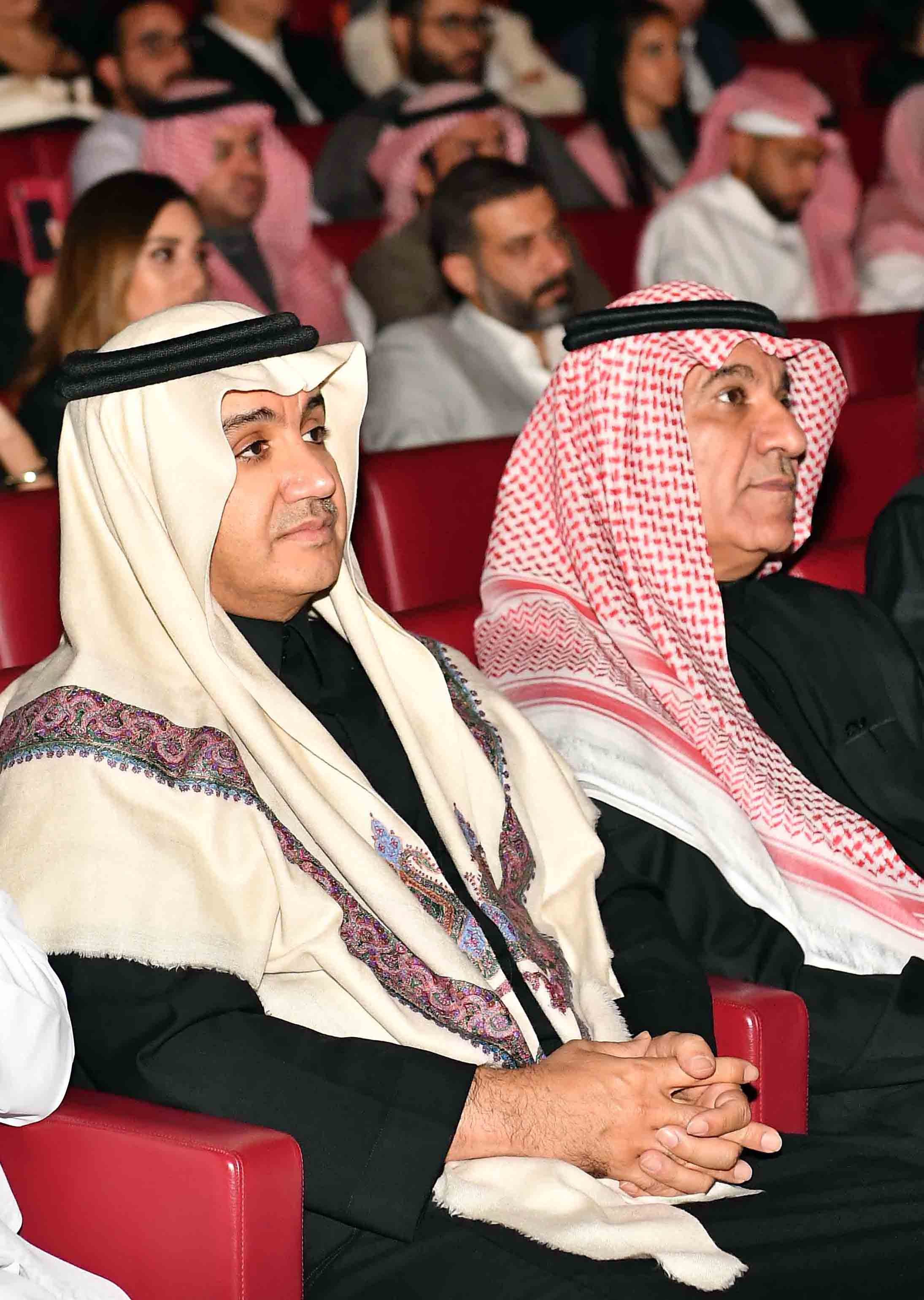 Shahid re-launch event - Turki Shabana & Waleed Al Ibrahim