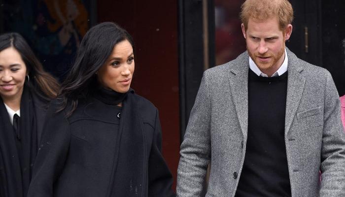 الأمير هاري وزوجته يضعان الشرطة البريطانية في أزمة