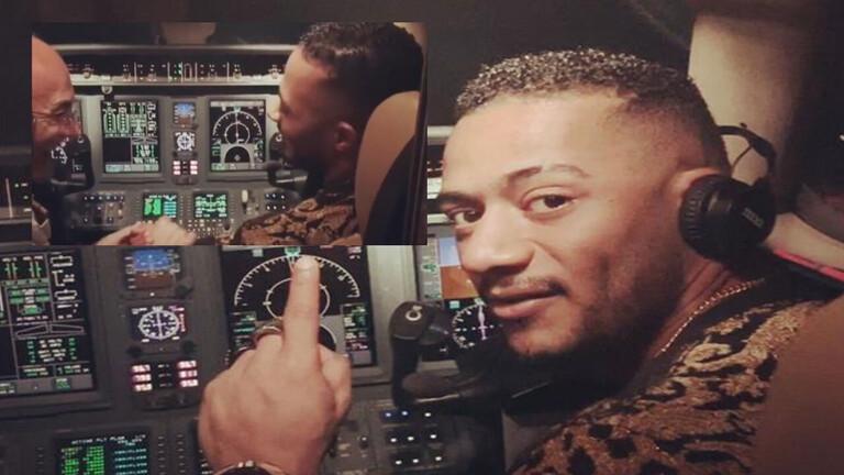 حقيقة طلب الطيار الموقوف مبالغ خيالية من محمد رمضان !