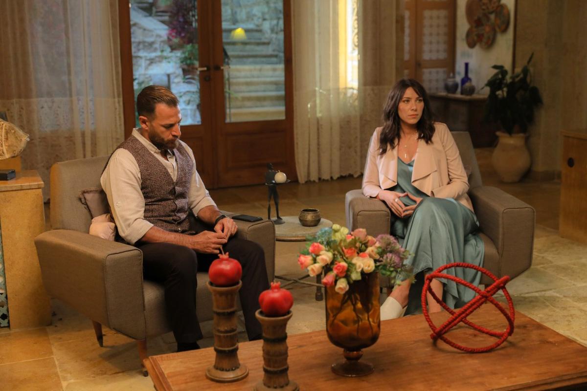 MBC4- Lebanese Drama- Al Awda- Daniella Rahme and Nicolas Moawad