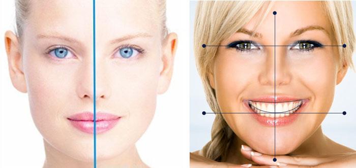 ما هي مقاييس جمال الوجه الأساسية؟