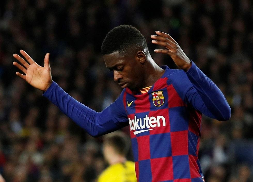 برشلونة يعرض خسارة 100 مليون يورو للتخلص من عثمان ديبملي