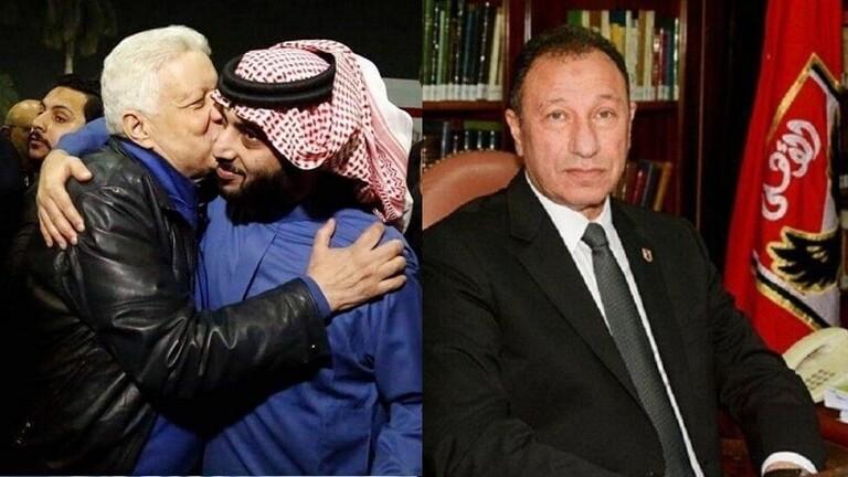 مرتضى منصور يطالب الأهلي برد أموال تركي آل الشيخ