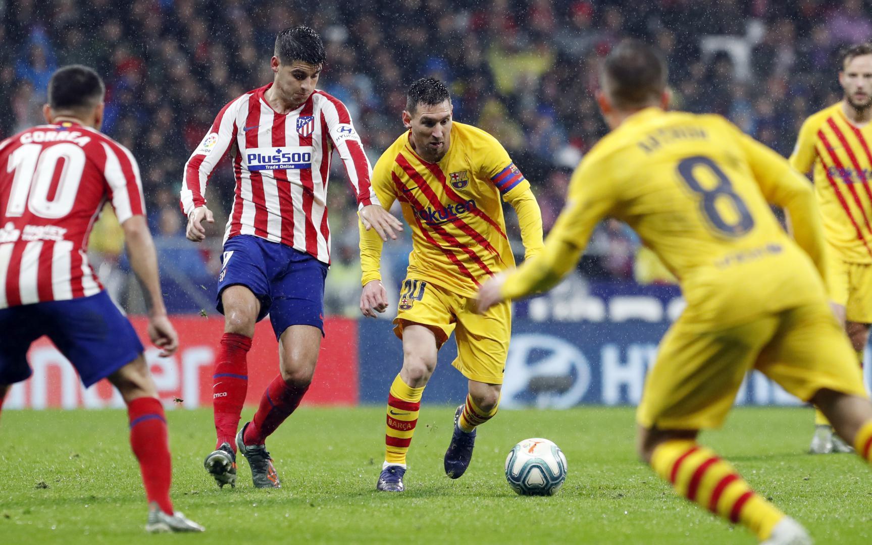 موعد مباراة برشلونة ضد أتلتيكو مدريد