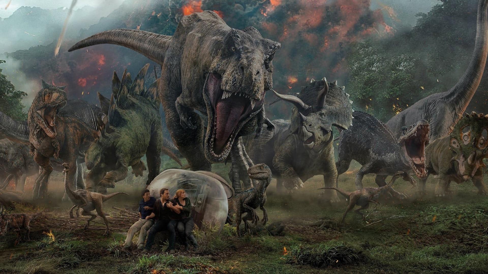 أستئناف تصوير فيلم Jurassic World : Dominion بتدابير وقائية