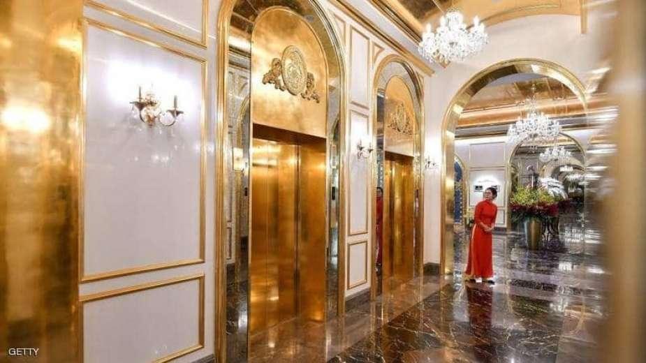 فيتنام تفتح أول فندق مطلي بالذهب على مستوى العالم