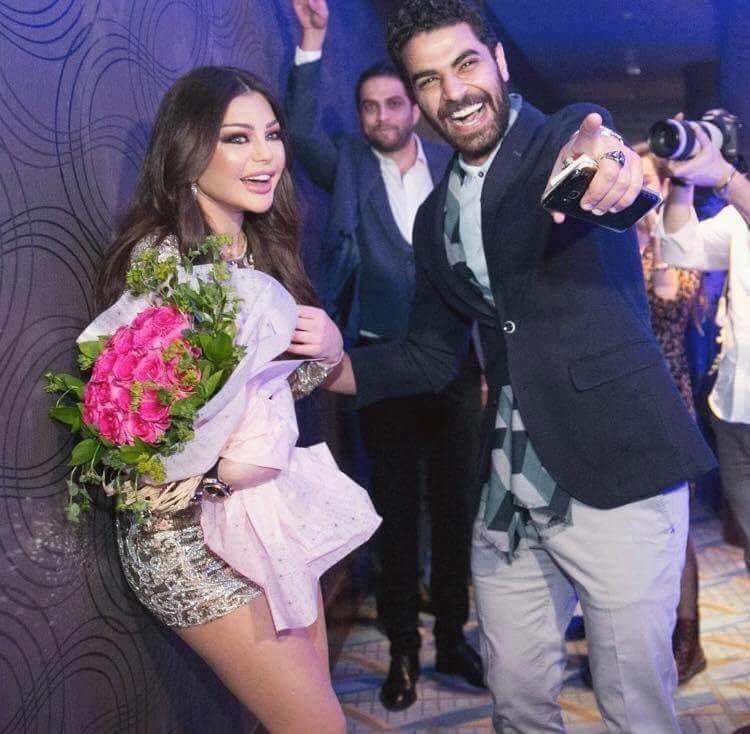 محمد وزيري يؤكد تزوجت هيفاء وهبي رسمي خلال عام 2017