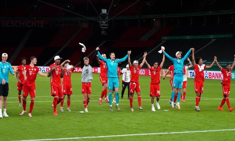 بايرن ميونخ يتوج بطلا للكأس الألماني لمرة الـ 20
