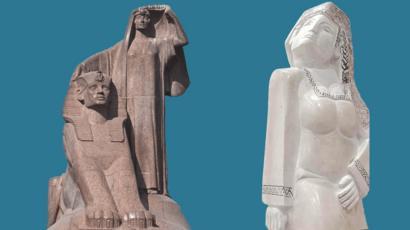 تمثال مصر تنهض يتصدر الترند بعد تسريب صور له