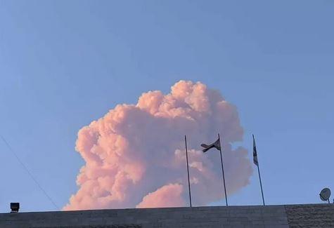 أخر الأنباء عن حريق لبنان وما شاهدته العاصمة بيروت من أحداث