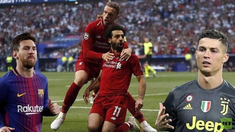إعلان قائمة أفضل لاعب في أوروبا