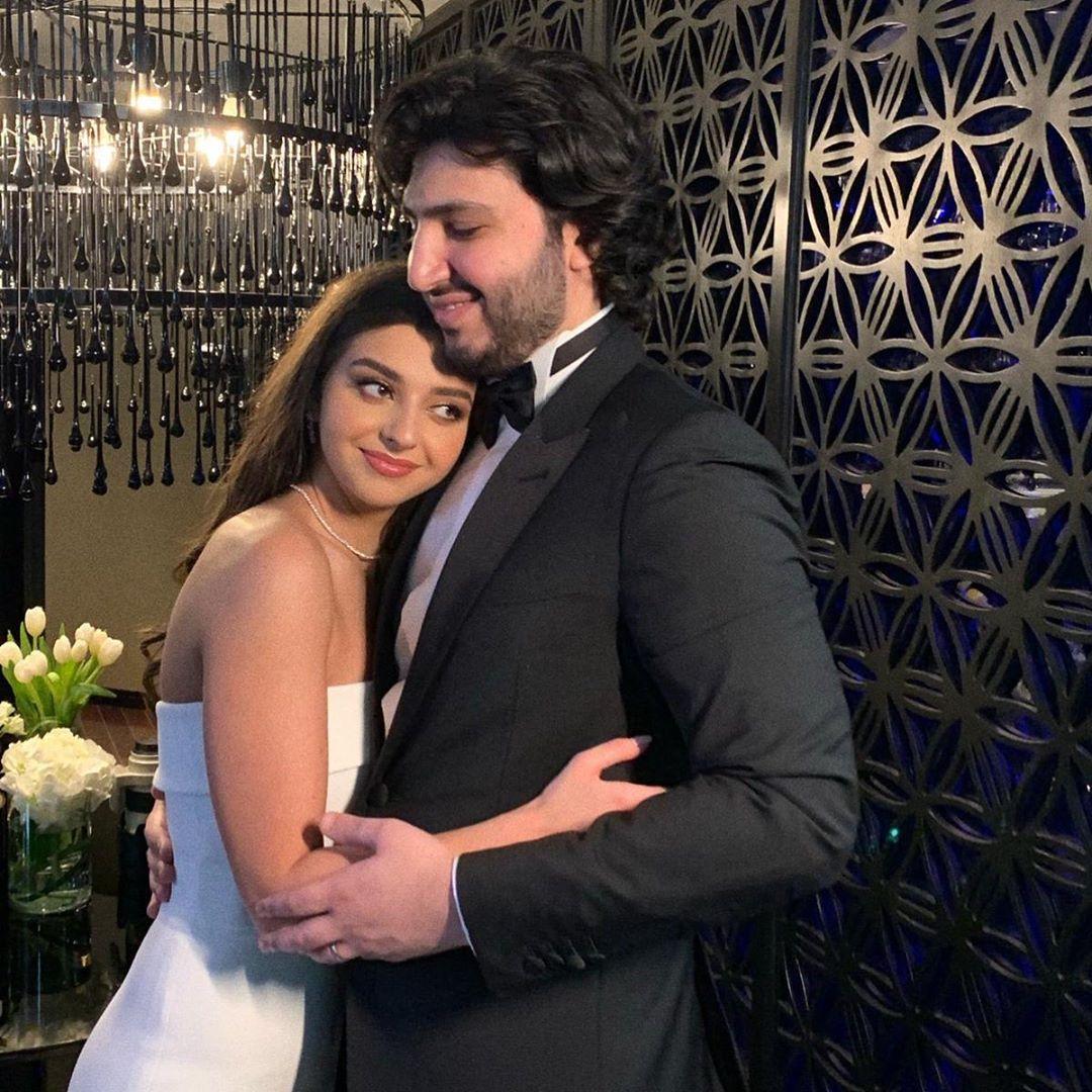 زفاف ابن الفنان فضل شاكر على كاترينا مراد