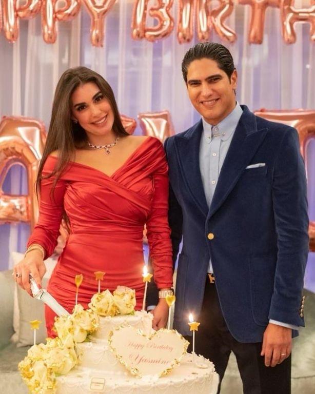 ياسمين صبري تحتفل بعيد ميلادها بفستان ثمنه 45 ألف جنيه