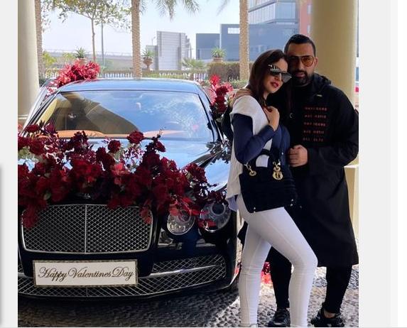 درة توضح حقيقة سيارة عيد الحب