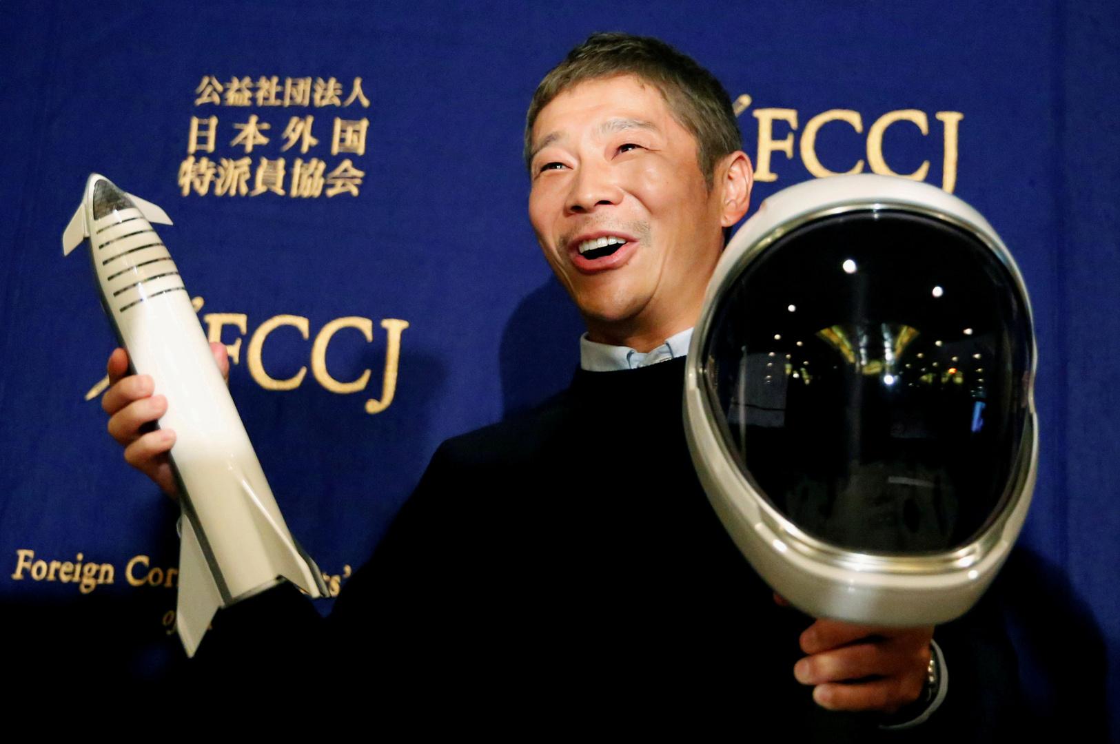 ملياردير ياباني يبحث عن 8 أشخاص من حول العالم لمرافقته إلى القمر
