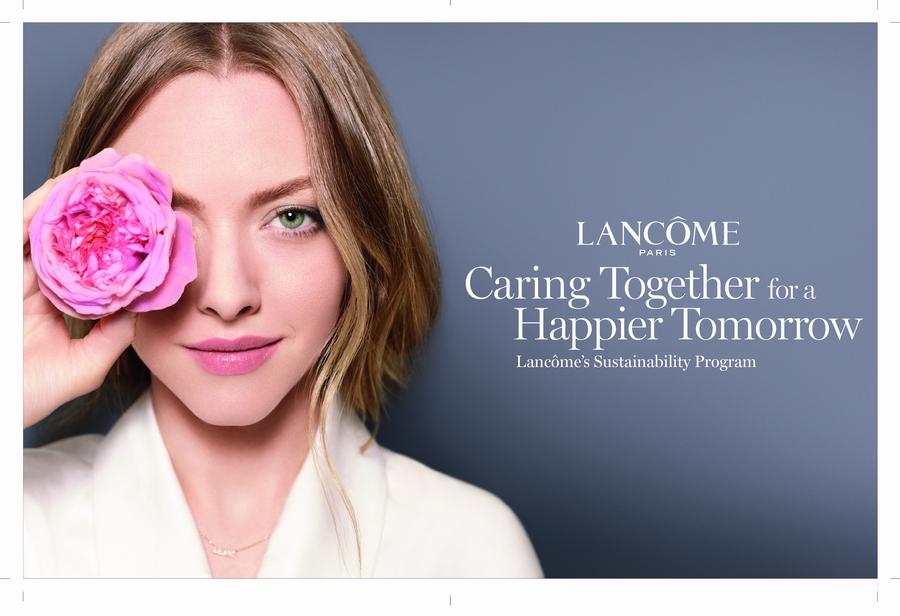 Lancôme تطلق برنامجها العالمي للاستدامة
