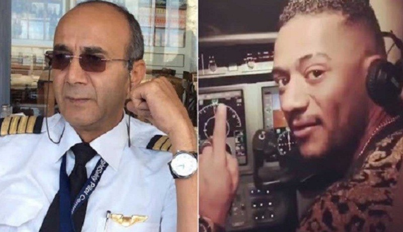 وفاة الطيار أشرف أبو اليسر بطل قضية محمد رمضان