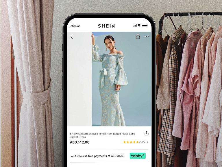 تابي تتشارك مع شي إن أكبر تجار التجزئة الإلكترونية للأزياء