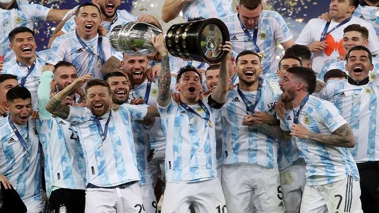 الأرجنتين تفوز بلقب كوبا أمريكا على حساب البرازيل