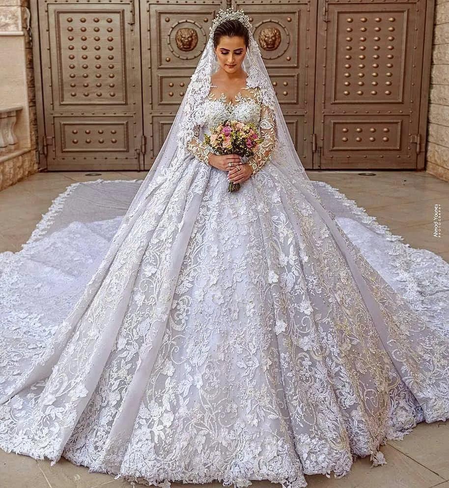 موضة فساتين زفاف 2020