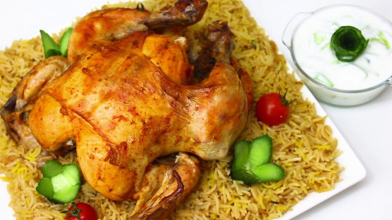 طريقة شوي الدجاج بالفرن العادي