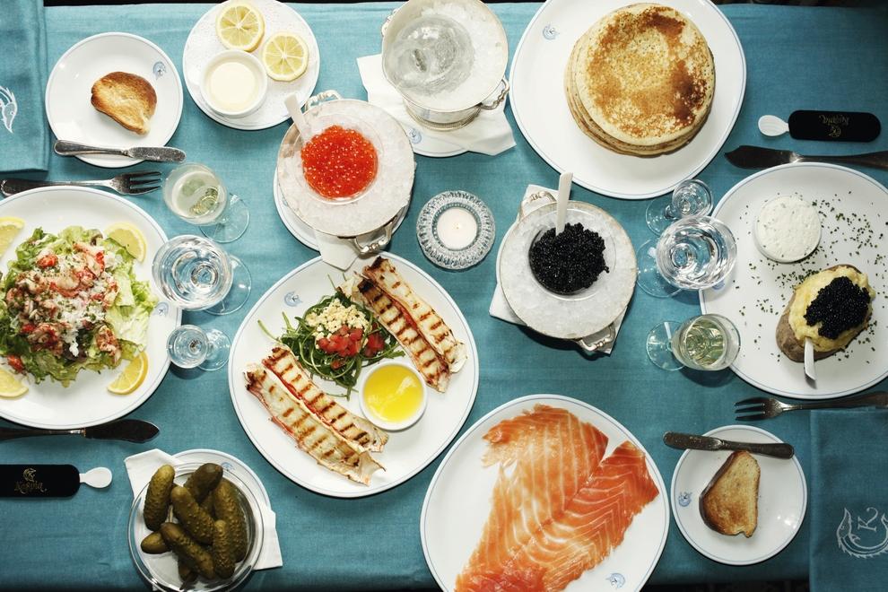 كافيار كاسبيا المطعم الباريسي يحطّ رحاله في مركز دبي المالي